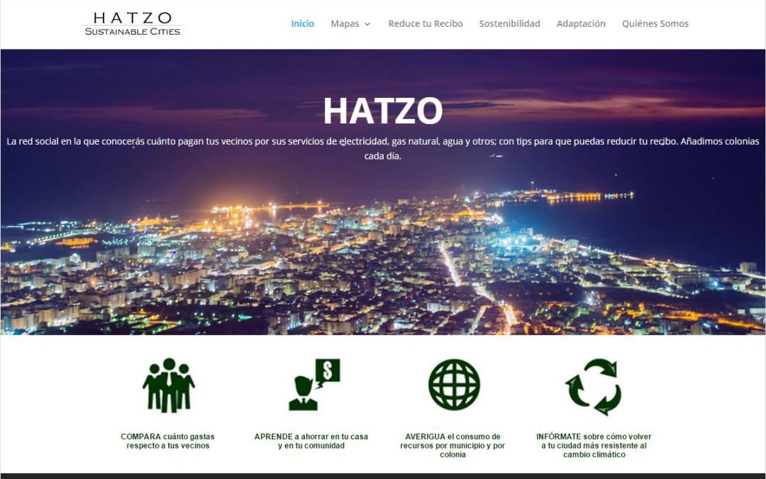 Hatzo Sustainable Cities, plataforma web para la sostenibilidad.