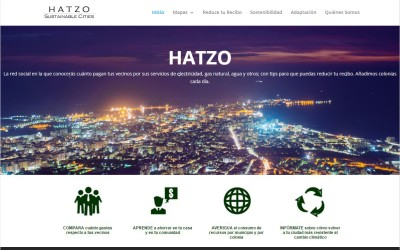 Hatzo Sustainable Cities, plataforma web para la sostenibilidad.