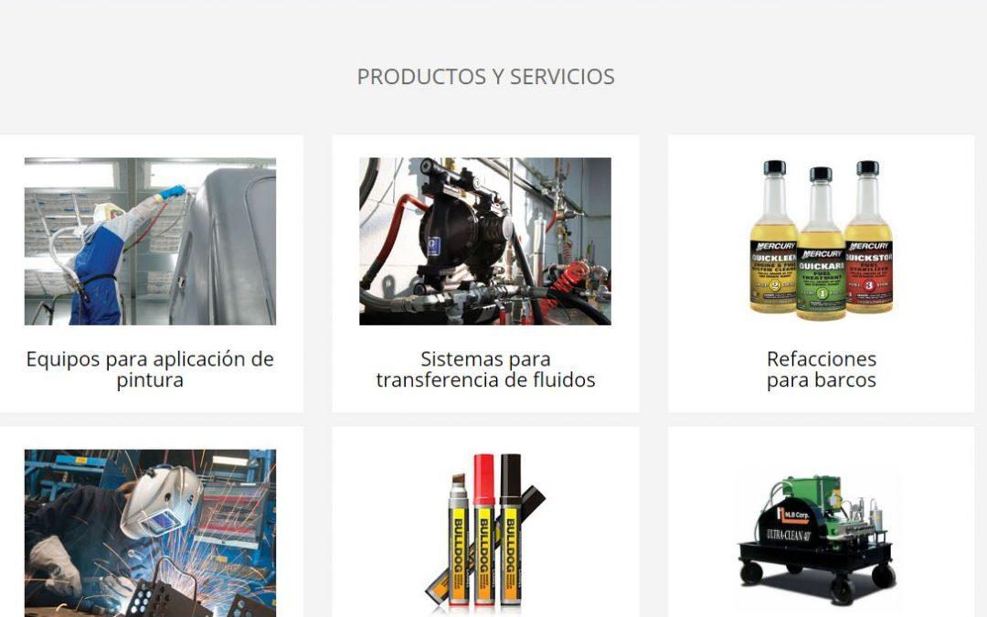 SINASA Un sitio web negocio a negocio (B2B)