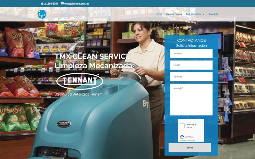 DISTRIBUIDORES TENNANT TMX Clean Service Distribuidores Autorizados